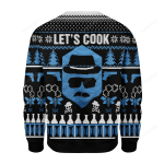 Let's Cook Ugly Christmas Sweater, All Over Print Sweatshirt