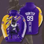 Sports American Nfl Minnesota Vikings Danielle Hunter  3D All Over Print Hoodie, Zip-up Hoodie