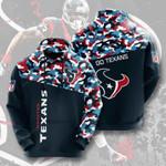Sports American Nfl Houston Texans 3D All Over Print Hoodie, Zip-up Hoodie