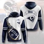 Sports American Nfl Los Angeles Rams 3D All Over Print Hoodie, Zip-up Hoodie