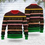 Butts Wall Ugly Christmas Sweater, All Over Print Sweatshirt