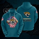 Sports American Nfl Jacksonville Jaguars 3D All Over Print Hoodie, Zip-up Hoodie