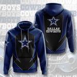 Sports American Nfl Dallas Cowboys 3D All Over Print Hoodie, Zip-up Hoodie