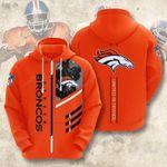 Sports American Nfl Denver Broncos 3D All Over Print Hoodie, Zip-up Hoodie