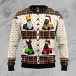 Scottish Terriers Ugly Christmas Sweater, All Over Print Sweatshirt