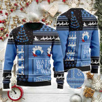 Bowling Watch 'em Fall & Weep Ugly Christmas Sweater, All Over Print Sweatshirt