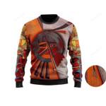 Native American Ugly Christmas Sweater, All Over Print Sweatshirt
