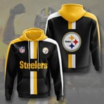 Pittsburgh Steelers 3D All Over Print Hoodie, Zip-up Hoodie