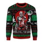 Jingle All The Way Ugly Christmas Sweater, All Over Print Sweatshirt