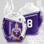 Sacramento Kings 3D All Over Print Hoodie, Zip-up Hoodie
