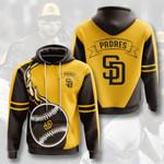 San Diego Padres 3D All Over Print Hoodie, Zip-up Hoodie