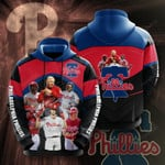 Philadelphia Phillies 3d Hoodie, 3D All Over Print Hoodie, Zip-up Hoodie