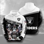 Oakland Raiders NFL  3D All Over Print Hoodie, Zip-up Hoodie