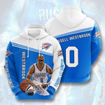 Oklahoma City Thunder #0 3D All Over Print Hoodie, Zip-up Hoodie