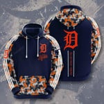 Mlb Detroit Tigers 3d All Over Print Hoodie, Zip-Up Hoodie