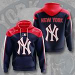Mlb New York Yankees 3d All Over Print Hoodie, Zip-Up Hoodie