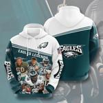 Philadelphia Eagles 3D All Over Print Hoodie, Zip-up Hoodie