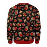 Scared Heart Ugly Christmas Sweater, All Over Print Sweatshirt