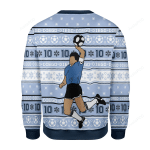 Football Player Ugly Christmas Sweater, All Over Print Sweatshirt