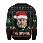 The Spurge Ugly Christmas Sweater, All Over Print Sweatshirt