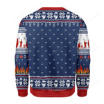 Firefighter Do It For The Ho's Ugly Christmas Sweater, All Over Print Sweatshirt