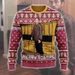 Robert Pattinson Kitchen Ugly Christmas Sweater, All Over Print Sweatshirt