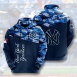 New York Yankees 3D All Over Print Hoodie, Zip-up Hoodie3d Hoodie 6