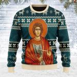 St. Trifun Ugly Christmas Sweater, All Over Print Sweatshirt