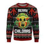 Merry Chilma Ugly Christmas Sweater, All Over Print Sweatshirt