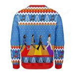 The Beatles Ugly Christmas Sweater, All Over Print Sweatshirt