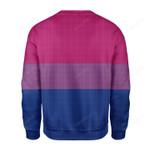 Bisexual Pride Flag Ugly Christmas Sweater, All Over Print Sweatshirt