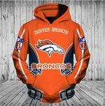 Nfl Football Denver Broncos 3D All Over Print Hoodie, Zip-up Hoodie