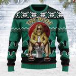 The Dude Ugly Christmas Sweater, All Over Print Sweatshirt