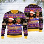 Basketball Ugly Christmas Sweater, All Over Print Sweatshirt