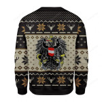 Austria Coat of Arms Ugly Christmas Sweater, All Over Print Sweatshirt