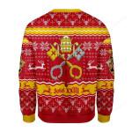 John XXIII Coat Of Arms Ugly Christmas Sweater, All Over Print Sweatshirt