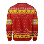 Pope Pius XI Coat Of Arms Ugly Christmas Sweater, All Over Print Sweatshirt