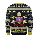 Pope Sixtus V Coat Of Arms  Ugly Christmas Sweater, All Over Print Sweatshirt