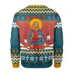 Christ Jesus Holy Shot! Ugly Christmas Sweater, All Over Print Sweatshirt