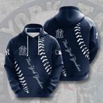New York Yankees 3D All Over Print Hoodie, Zip-up Hoodie
