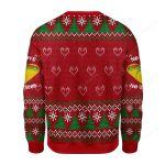 No Love No Taco Ugly Christmas Sweater, All Over Print Sweatshirt