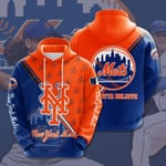 New York Mets 3d All Over Print Hoodie, Zip-Up Hoodie