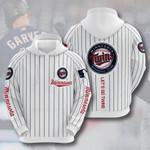 Sports Minnesota Twins Baseball Club Let's Go Twins 3d All Over Print Hoodie, Zip-Up Hoodie
