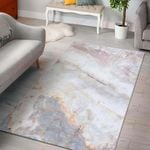 Pink White Grey Marble Rug RBSMT TTVNWNX