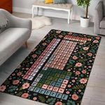 Periodic Table Of The Elements Rug RBSMT TTVNVMX