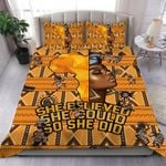 African Woman She Believed She Could So She Did Bedding Set PBSJ YUY BUBL