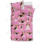 Cute Beagles On Pink Bedding Set PAZX YUY BUBL