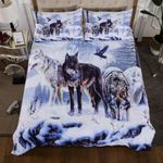 Wolf Snow Wolf Bedding Set PCQG YUY BUBL