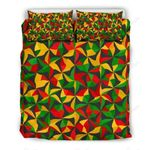 Abstract Reggae Pattern Bedding Set PCQY YUY BUBL