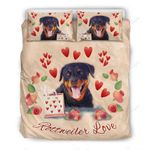 Rottweiler Love Bedding Set PCXB YUY BUBL